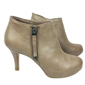 Madden Girl Ankle Ginger Boots Size 5.5 Taupe